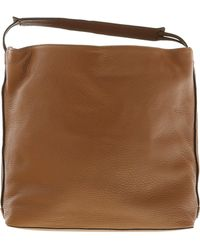 Rebecca Minkoff - Women's Large Isobell Leather Bag Top-handle Hobo - Almond - Lyst