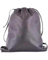 RED Valentino - Women's Black Leather Backpack - Lyst