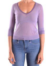 Peuterey - Women's Purple Viscose Jumper - Lyst