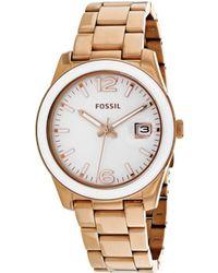 Fossil - Perfect Boyfriend Women's Ce1088 - Lyst