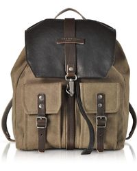 The Bridge - Men s 0617184d8g Brown Fabric Backpack - Lyst 9d7172e02d8f8