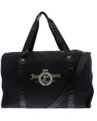 Juicy Couture - Womens Glitteratzi Nylon Convertible Weekender Handbag - Lyst
