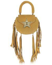 Salar - Women's Brown Leather Shoulder Bag - Lyst