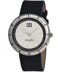 Simplify - The 1300 Leather-band Watch - Lyst