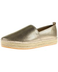 f3d53d348bf Steve Madden - Womens Peppa Perforated Casual Espadrilles - Lyst