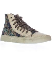 Studswar - Masumi High Top Fashion Sneakers - Chalk - Lyst