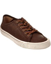 Frye - Men's Miller Low Top Leather Trainer - Lyst