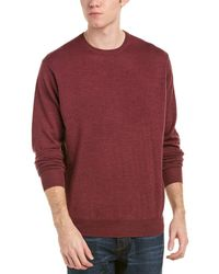 Peter Millar - Crown Soft Merino Wool & Silk-blend Crewneck Jumper - Lyst