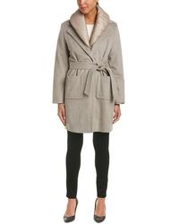 ESCADA - Wool Coat - Lyst