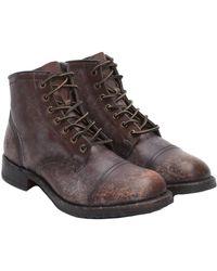 Frye - Men's Logan Leather Boot - Lyst