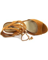 G by Guess   Womens Estes Open Toe Casual Platform Sandals   Lyst