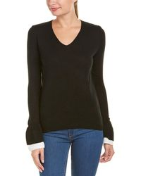 Lea & Viola | Bell-sleeve Sweater | Lyst