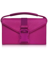 Christopher Kane - Women's Purple Leather Handbag - Lyst