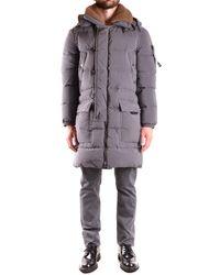 Peuterey | Men's Grey Polyamide Coat | Lyst