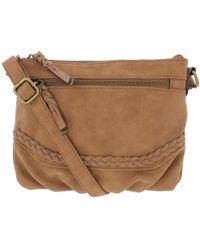 Style & Co. - . Womens Faux Leather Braided Crossbody Handbag - Lyst