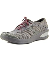 Bzees - Flame Women W Round Toe Synthetic Grey Trainers - Lyst