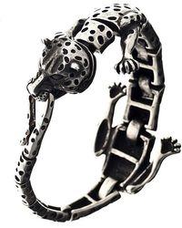 Ametallo - Ghepardo Stainless Steel Bracelet - Lyst