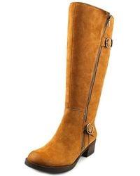 Lucky Brand - Women's Hoxy Knee High Riding Boots - Lyst
