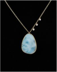 Meira T - 14k 9.01 Ct. Tw. Diamond & Gemstone Necklace - Lyst