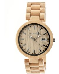 Earth Wood - Stomates Bracelet Watch - Lyst