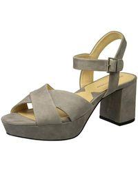 16695281286 Adrienne Vittadini - Footwear Women s Powel Heeled Sandal - Lyst