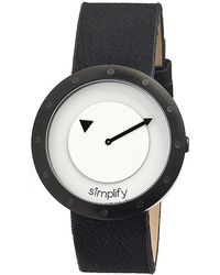 Simplify - The 2200 Leather-band Watch - Lyst