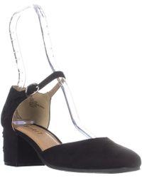 Esprit - Ellen Ankle-strap Block Heels, Black - Lyst