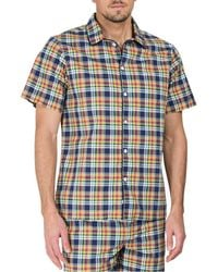 Sleepy Jones - Henry Short Sleeve Pyjama Shirt - Lyst