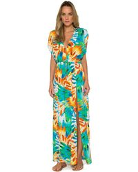 Lenny Niemeyer - Draped Long Cover Up - Lyst