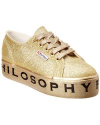 Philosophy - Platform Trainers In Gold - Lyst