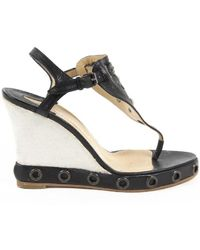 Clements Riberio - Womens Wedge Sandal - Lyst
