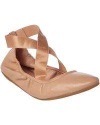 Taryn Rose - Edina Leather Flat - Lyst
