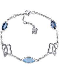 Julianna B - Blue Topaz & Swiss Blue Topaz London Bracelet - Lyst