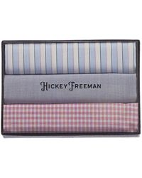Hickey Freeman - Set Of 3 Pocket Squares - Lyst