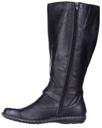 Born - Womens Barbana Wc Leather Closed Toe Knee High Fashion Boots Fashion Boots - Lyst