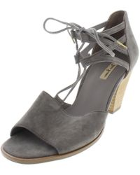 Paul Green - Womens Marsha Suede Stacked Heel Heels - Lyst