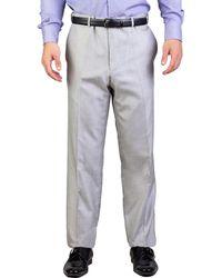 Dior - Homme Men's Silk Slim Fit Trouser Pants Light Grey - Lyst