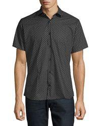 Jared Lang - Printed Button-down Shirt - Lyst