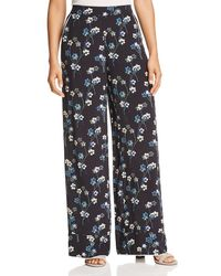 Ella Moss - Womens Floral Print Pull On Lounge Trousers - Lyst