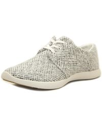 G.H.BASS - Gh Bass & Co Shelby Women Round Toe Synthetic White Fashion Trainers - Lyst