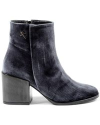 Andrew Charles by Andy Hilfiger - Andrew Charles Womens Heeled Ankle Boot Grey Charlize - Lyst