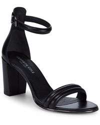 Kenneth Cole - Kenneth Cole Lucie Leather Ankle-strap Sandal - Lyst