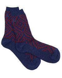 Pendleton - Women's Sunset Cross Crew Sock - Lyst