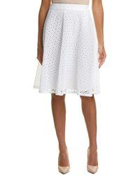 Basler - A-line Skirt - Lyst
