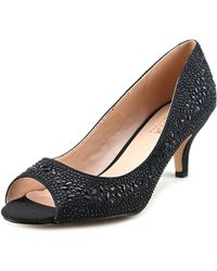 De Blossom Collection - Bertha Round Toe Synthetic Heels - Lyst