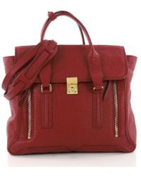 3.1 Phillip Lim - Pre Owned Pashli Satchel Leather Large - Lyst