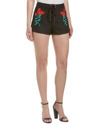 Endless Rose - Lace-up Short - Lyst