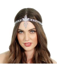 Kristin Perry - Gatsby Pendant Headpiece - Lyst