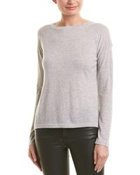 Vince - Cinched Cashmere Pullover - Lyst