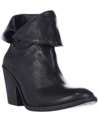 Lucky Brand - Ethann Foldover Ankle Booties - Lyst